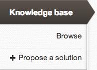 Knowledge base propose