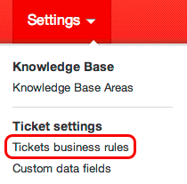 Tickets business rules